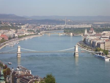 Budapest och Donau
