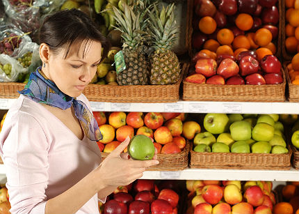 Svenskar ater mer frukt och gront