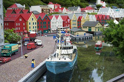 Båt på Legoland