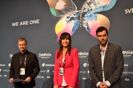 eurovision presskonferens