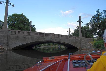 Bro i malmö kanal