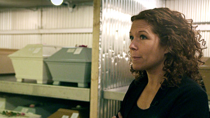 Programledaren Anna Lindman