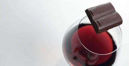 vin till choklad
