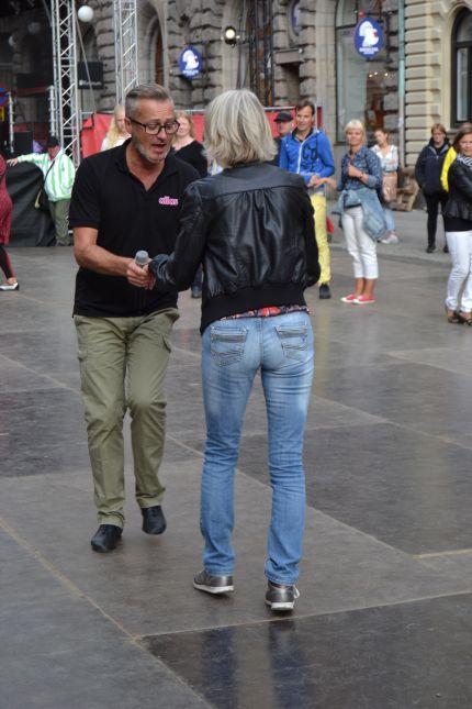 Tony Irving på Malmöfestivalen