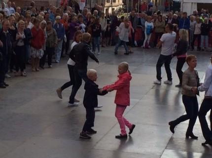 dansare på Malmöfestivalen