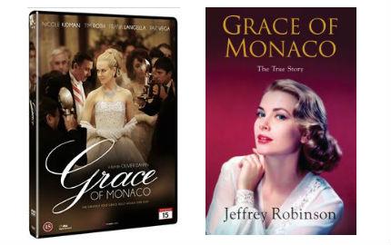 grace of monaco film och bok