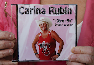 CD-skivan Kära tös med Carina Rubin
