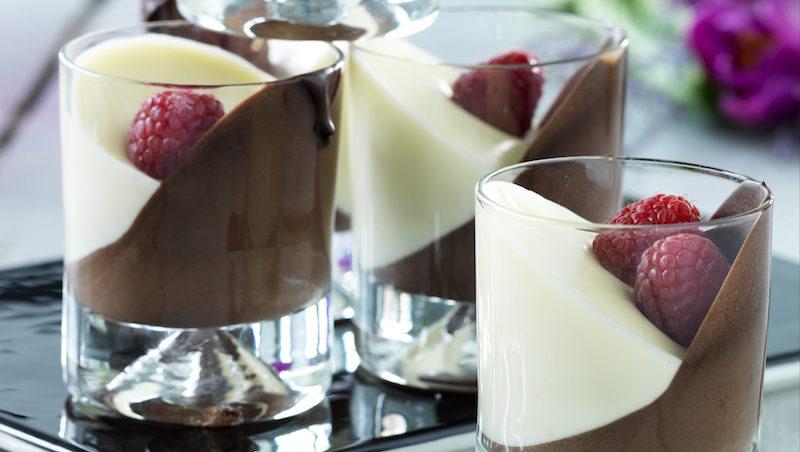 Choklad Dessert I Glas