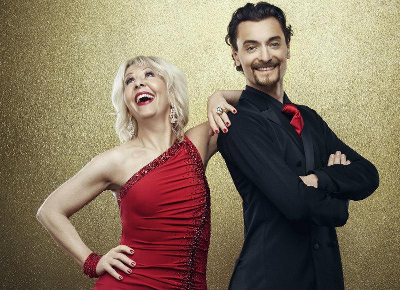 Let's Dance. Säsong XI. 2016. Pia Johansson och Marc Christiansen. Foto: Pär Bäckstrand/TV4