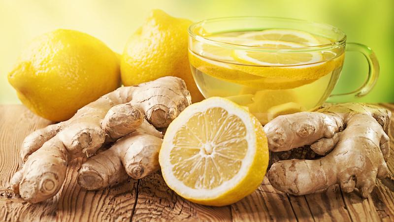 förkylningskur ingefära citron