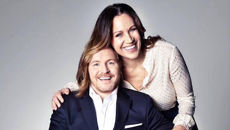 Humorgalan - för varenda unge. Morgan Alling och Renée Nyberg. 2016. Foto: Andreas Lundberg/TV4