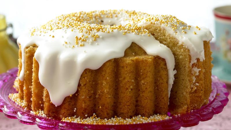 Mjuk kaka med extra mumsig smak.