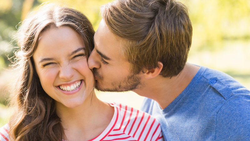 Kärlek mellan par.