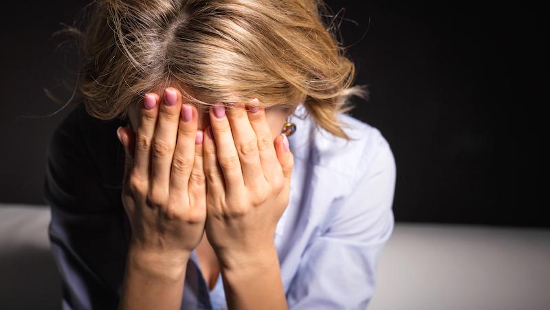 tecken på depression test