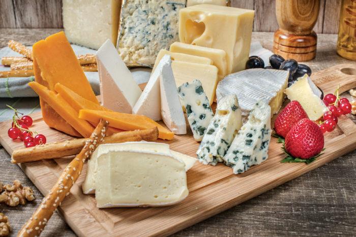 gravid och ost