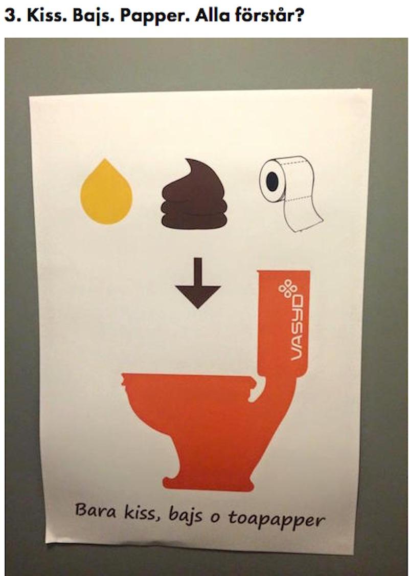 roliga skyltar toalett | allas.se
