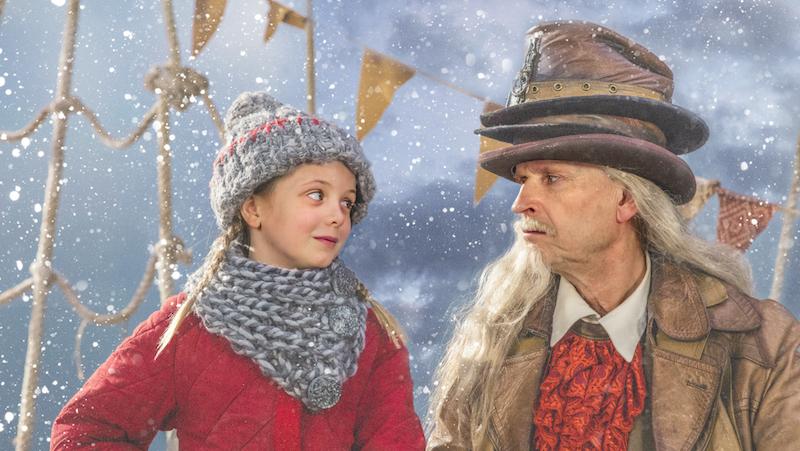 Årets julkalender. Selma och Efraim von Trippelhatt.