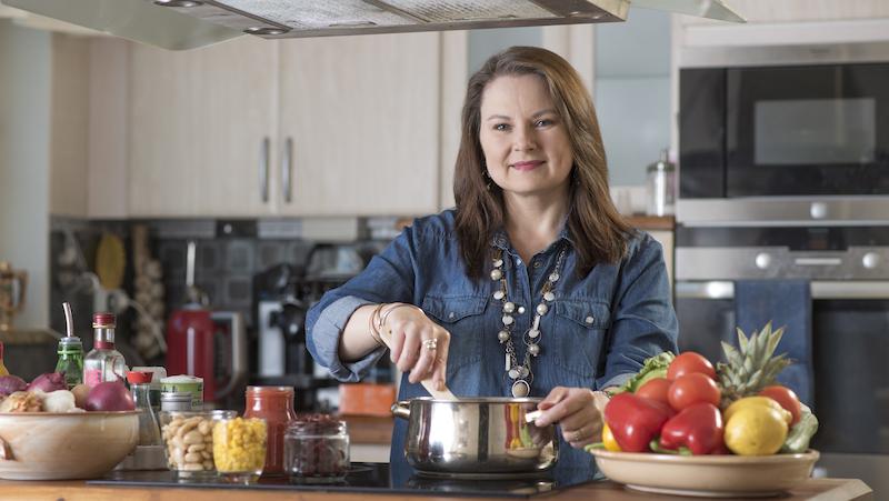Christina förespråkar ekologisk och naturlig mat och anser att vi bör skippa all snabbmat.