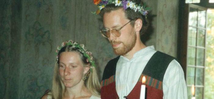 Marie och Gustav Mandelmann träffades på en konstskola. Bild: TV4