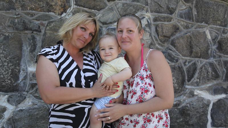 Lolita fick sin systers livmoder och blev med barn | Allas.se