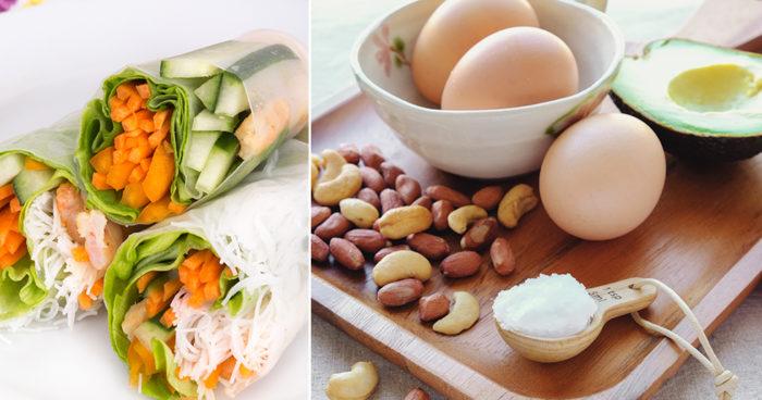 mat med mindre kolhydrater