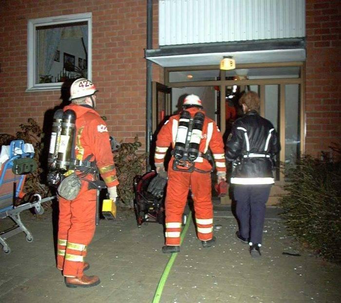 Det var i december 1998 som brandmännen ryckte ut till den övertända lägenheten på Docentgatan i Malmö.