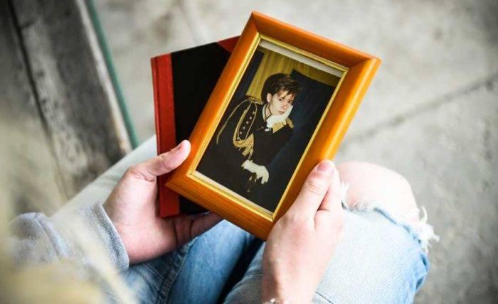 Ingrid Carlenfelt dog i mordbrand på docentgatan i Malmö. Här är en av få bilder på henne.
