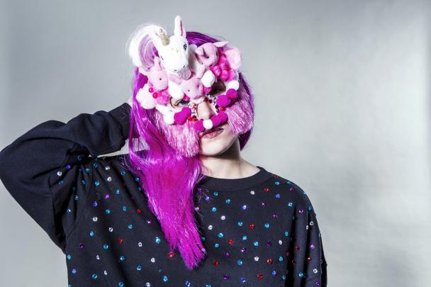 Norska artisten Kamferdrops