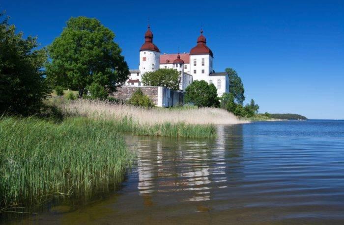I Läckö slotts köksträdgård odlas örter och grönsaker av högsta kvalitet av Simon Irvine