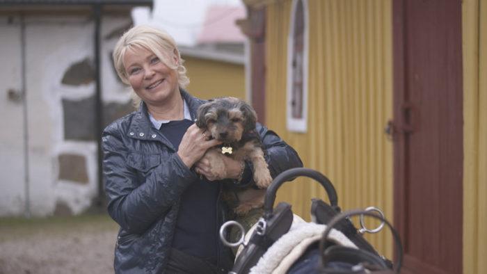 Hästbonden Marie, 55, i
