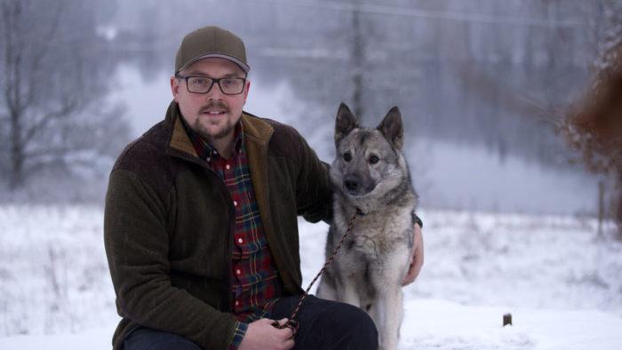 Skogsbonden Henrik, 34, i