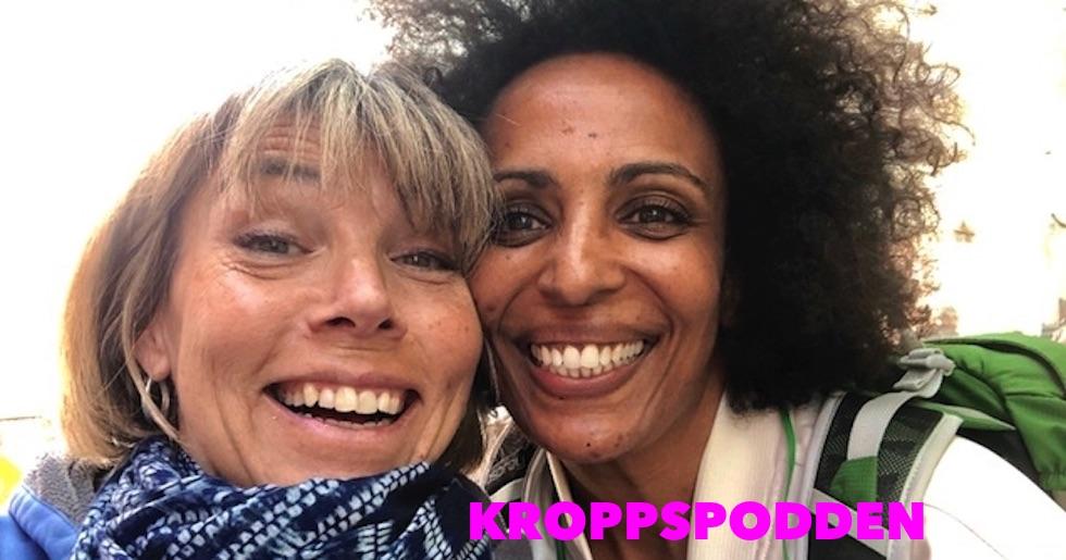 I Kroppspodden möts Hillevi Wahl och Marika Carlsson