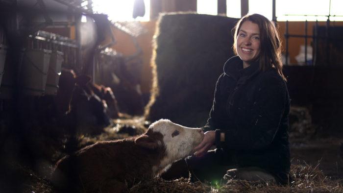 Mjölkbonden Susanna i