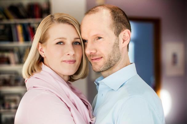Nisse Ekman och Danijela Rundqvist i SVT-serien