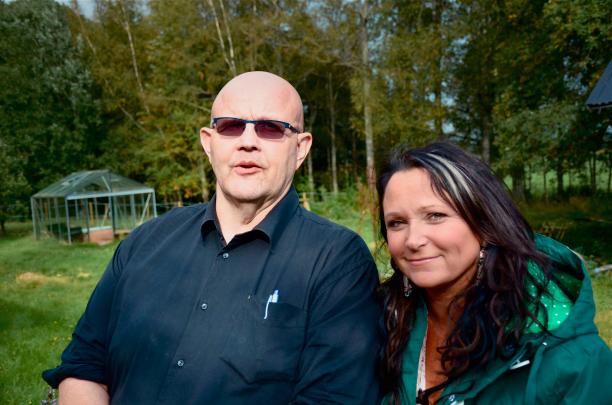 Anja Kontor och Börje Hellström i När livet vänder från 2013