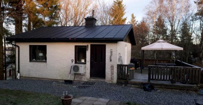 Familjen köpte huset när de väntade dottern Ellenor