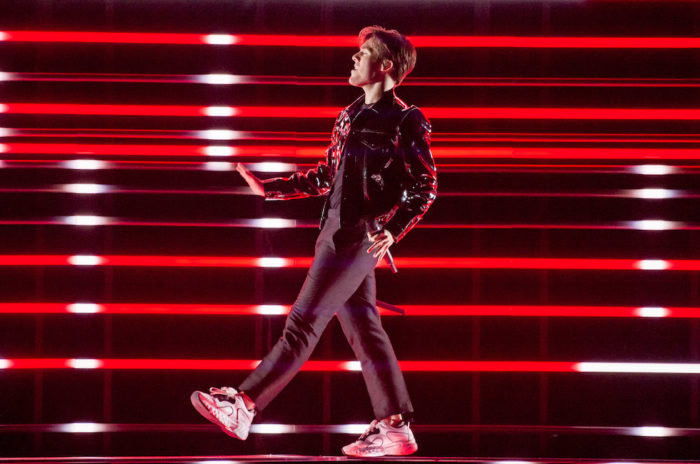 Benjamin Ingrosso i Eurovision song contest