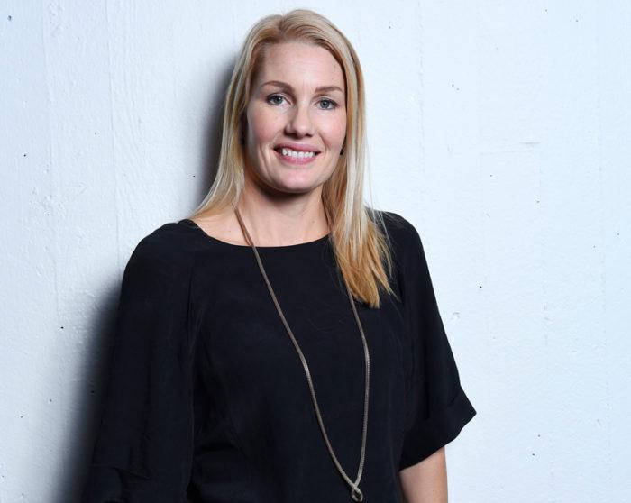 Hanna Marklund kommenterar VM i herrfotboll i TV4 2018.