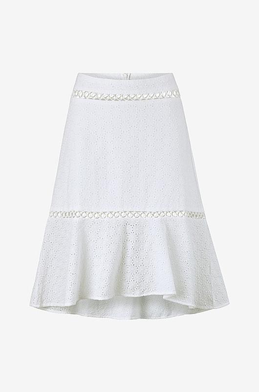 Vit kjol från Ellos.