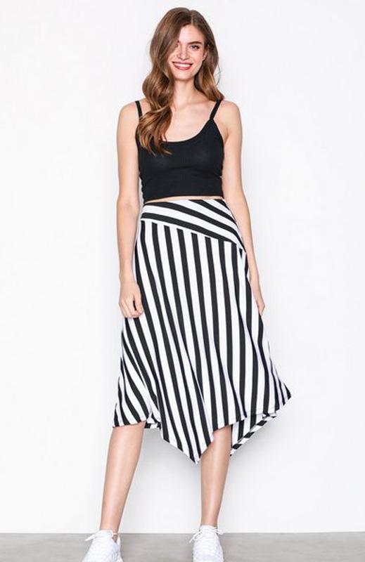 Randig kjol från Nelly.