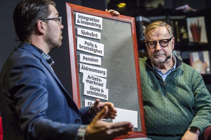 Sven Melander intervjuar Jimmie Åkesson (SD)