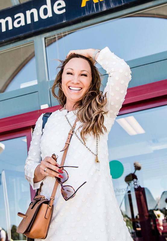 Charlotte Perrelli kommer till Gotland för inspelningen av