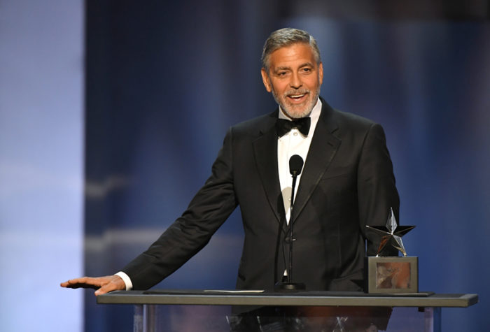 George Clooney på AFI Life Achievement Award Gala i Los Angeles i juni 2018.
