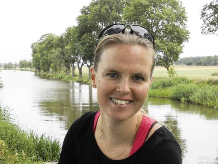 Hanna Friberg, forskare på SLU inom biologisk bekämpning, ser en positiv framtid för miljövänligare odling.