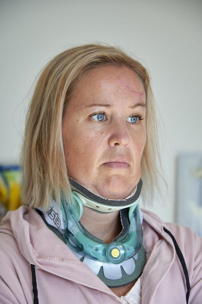 Linda Strandqvist förlorade sin dotter.