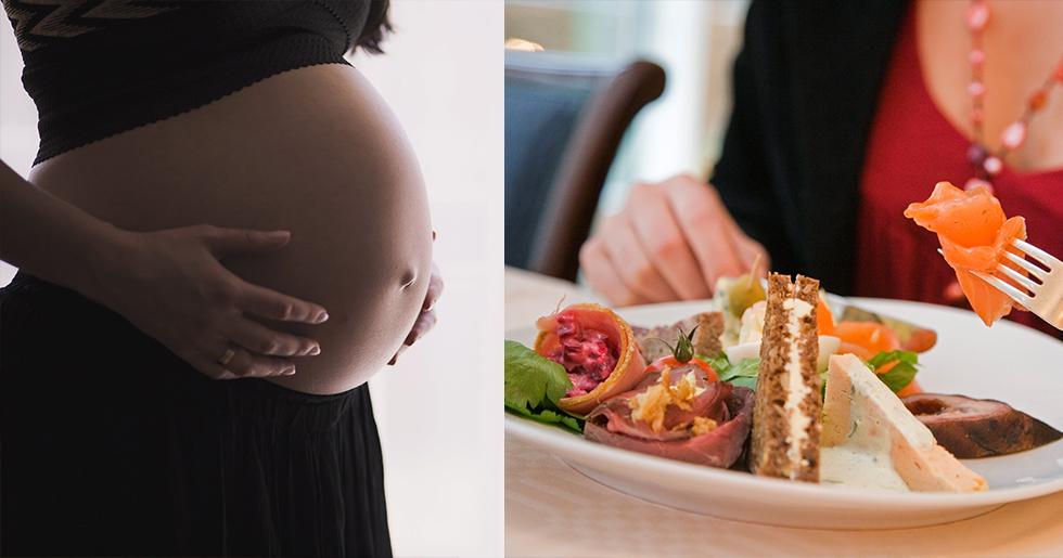 äta tonfisk gravid