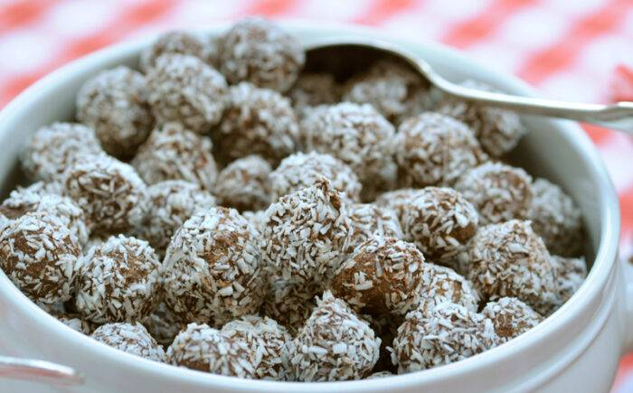 Chokladbollar med palmolja