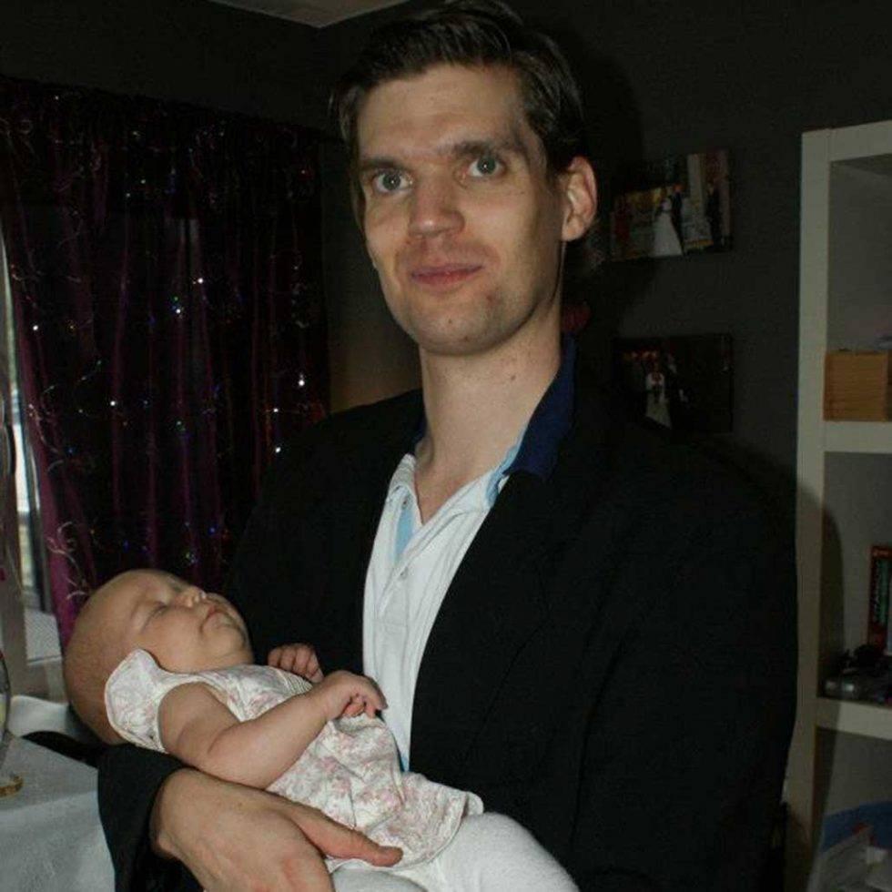 Wilhelmina Rudins barn kan i dag sitta kvar efter middagen och fråga hur könskorrigeringen går. På bilden syns Wilhelmina, då Jimmy, med sitt mellersta barn.