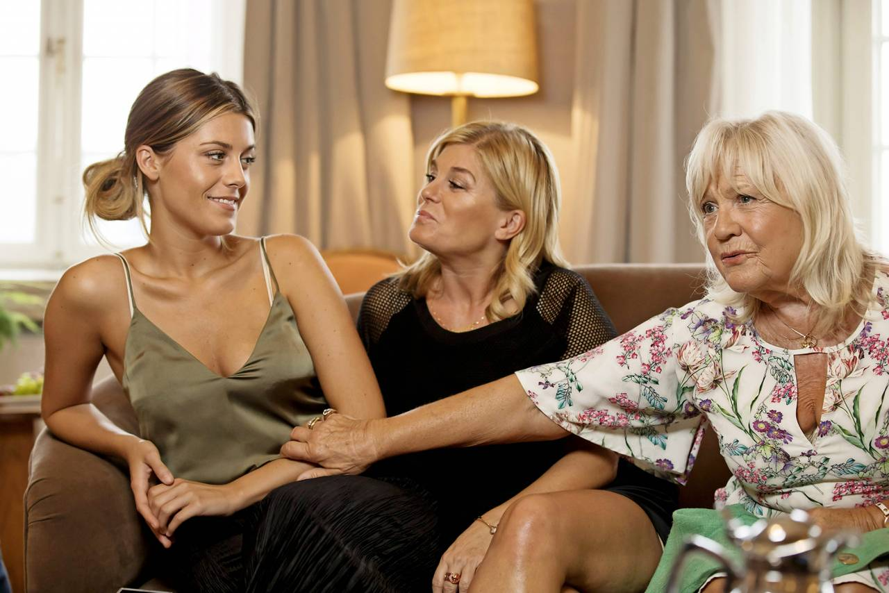 Bianca ingrosso, Pernilla Wahlgren och Christina Schollin