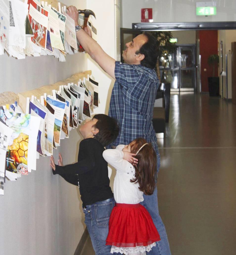 Firas spikar upp sin avhandling på Kemicentrum i Lund